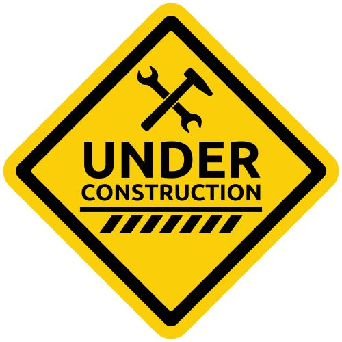 under construction sign construction clipart